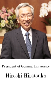 President of Gunma University Kuniaki Takata